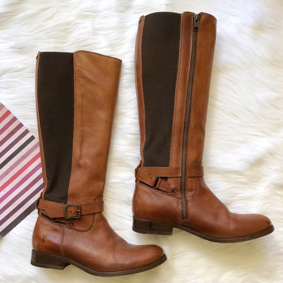 3afdf3d234fd Frye Shoes - Frye Melissa Gore Zip Leather Boots